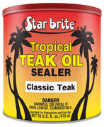 Star brite Tropical Teak Oil/Sealer Classic Teak tropik.öljy 500ml