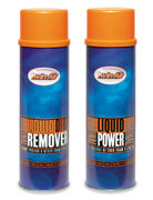 Twin Air Liquid Power Spray + Liquid Dirt Remover Spray Pak (2x500ml) (IMO)
