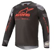 Alpinestars Junior Paita Racer Tactical Camo/Red Fluo
