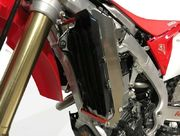AXP Radiator Braces Red spacers Honda CRF250R 18