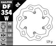 Galfer Wave Brake disc, Suzuki RM125 06- , rear