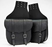 TILAUSTUOTE Saddlebag Set Throw Over Black