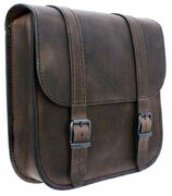 TILAUSTUOTE Swingarm Bag Straight Softail Brown