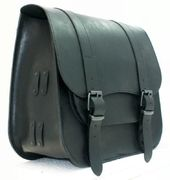 "TILAUSTUOTE Saddlebag one-side ""Postman"" medium Black"