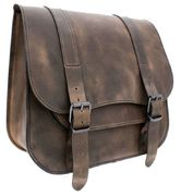 "TILAUSTUOTE Saddlebag one-side ""Postman"" medium Brown"