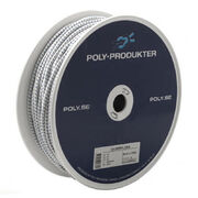 TILAUSTUOTE SHOCK CORD white 4mm 100m