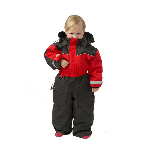 Safari kids coverall red/black